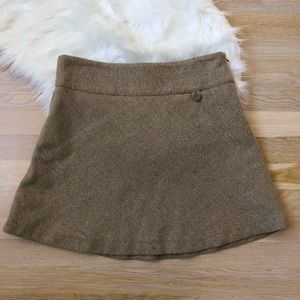 GAP Tweed Wool Skirt Size 2 Women's